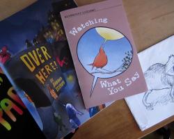 Comics by Andrea Tsurumi, Alexander Rothman